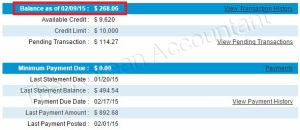 My average credit card balance is lower when I make weekly payments.