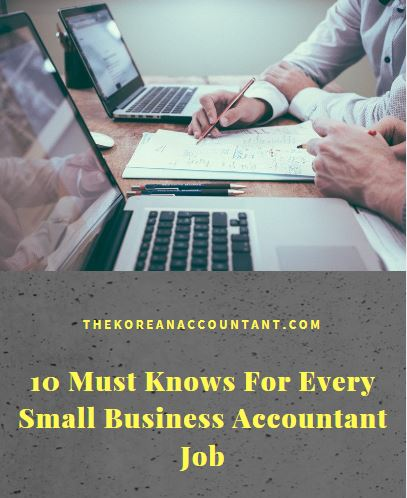 10 Must Knows For Every Small Business Accountant