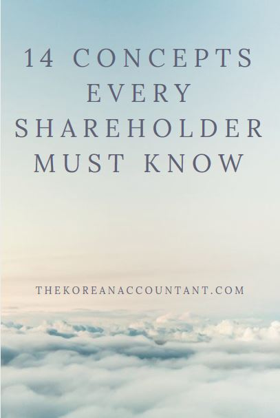 14 Concepts Every Shareholder Must Know
