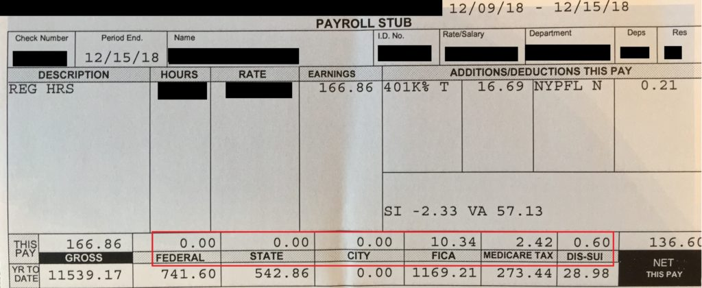 PaycheckWithholdings - Paycheck